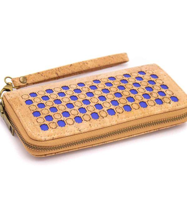 Kork Portemonnaie Serie Azur Motiv 4